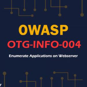 OTG-INFO-004